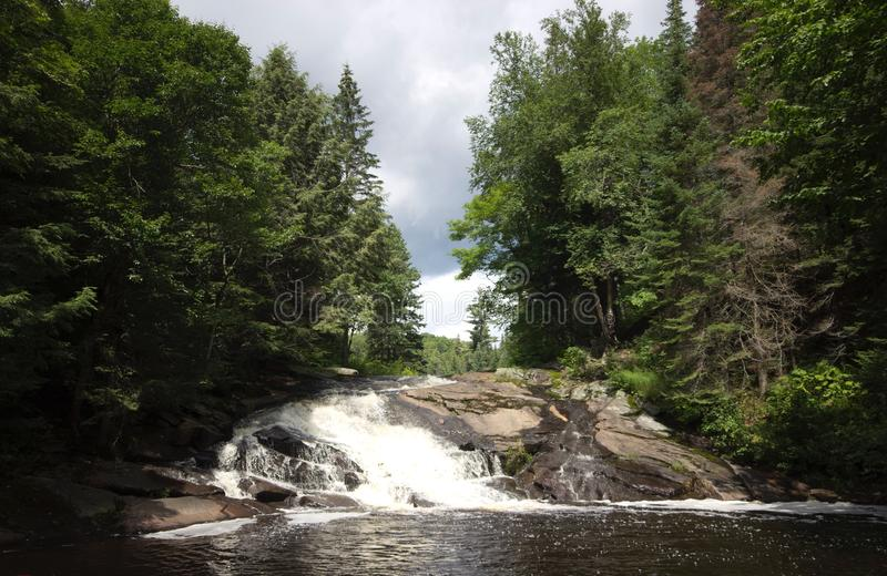 Cachoeira de Muskoka fotografia de stock royalty free