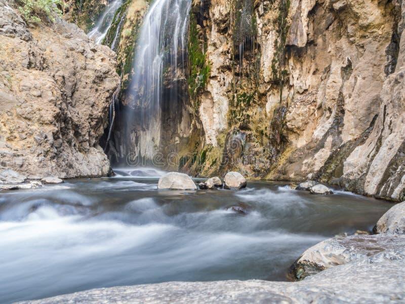 Cachoeira de Natron imagem de stock