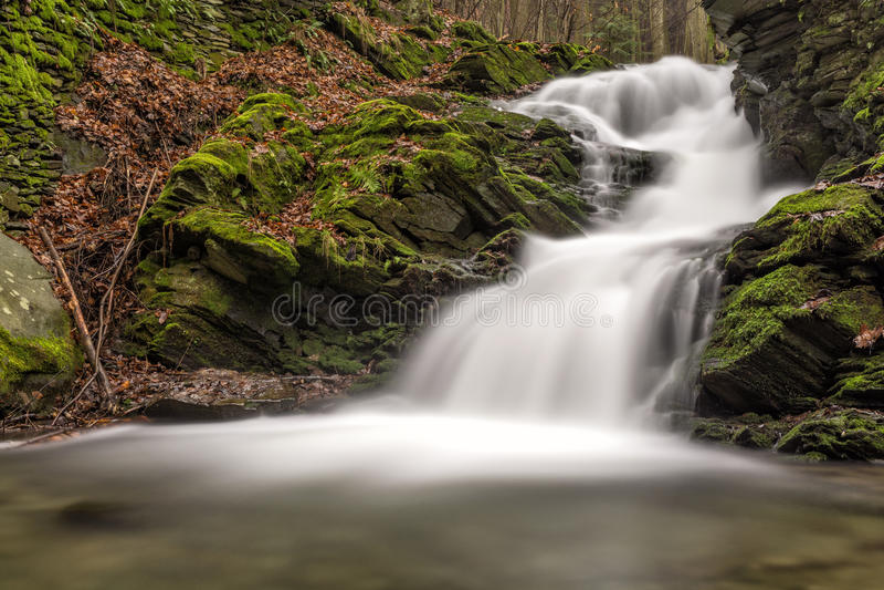 Cachoeira de Paseka imagens de stock