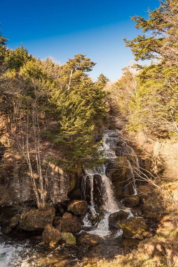 Cachoeira de Ryuzu em nikko foto de stock royalty free