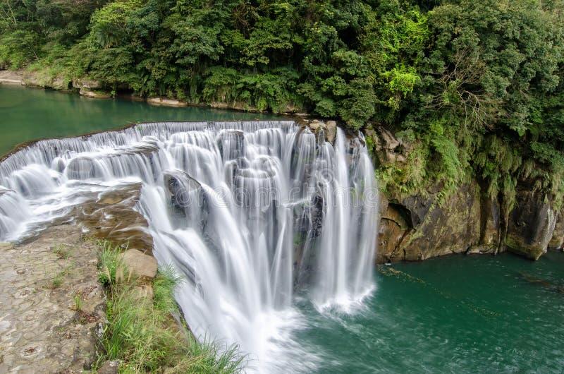 Cachoeira de Shifen foto de stock