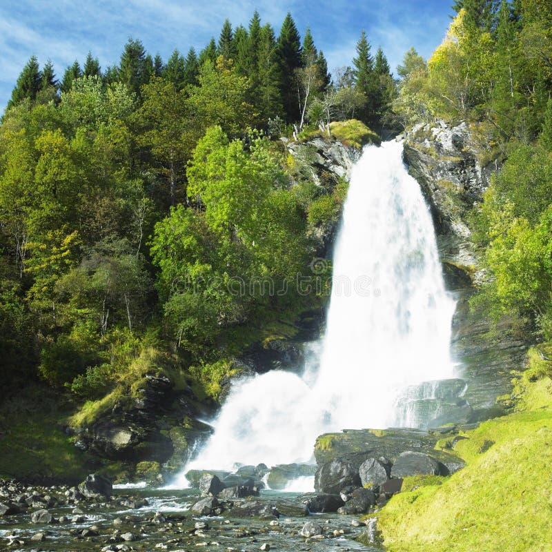 Cachoeira de Skeie fotos de stock royalty free
