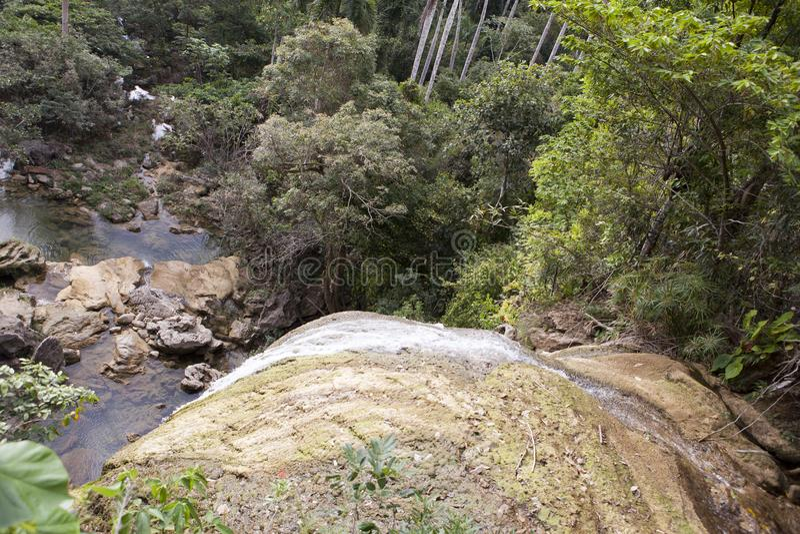 Cachoeira de Soroa, Pinar del Rio, Cuba foto de stock