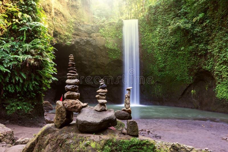 Cachoeira de Tibumana imagens de stock