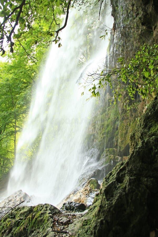 Cachoeira de Urach mau, Alemanha foto de stock