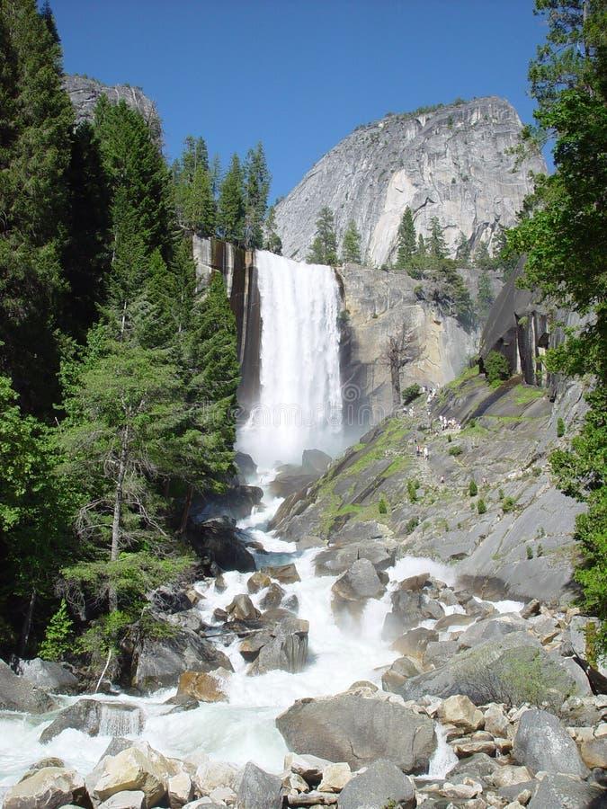 Cachoeira de Yosemite fotos de stock