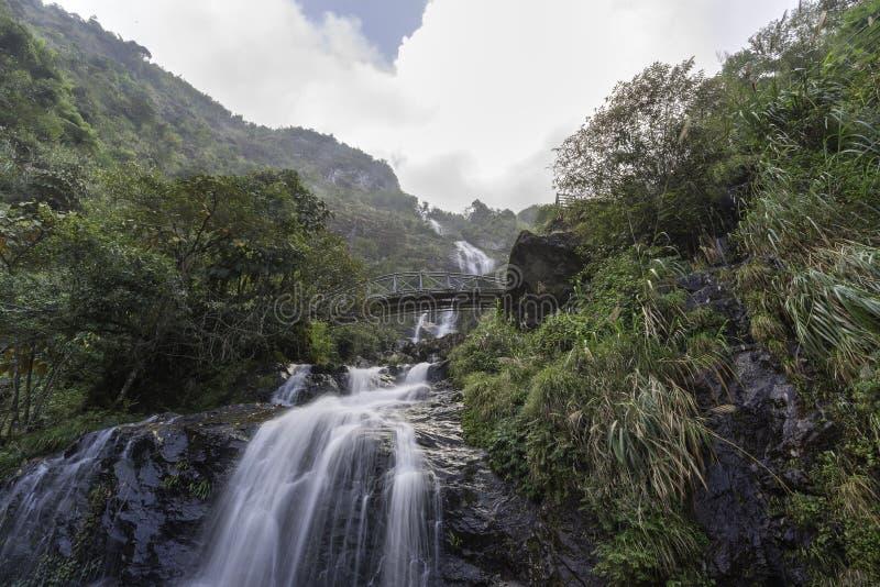 Cachoeira do amor do amor imagem de stock royalty free