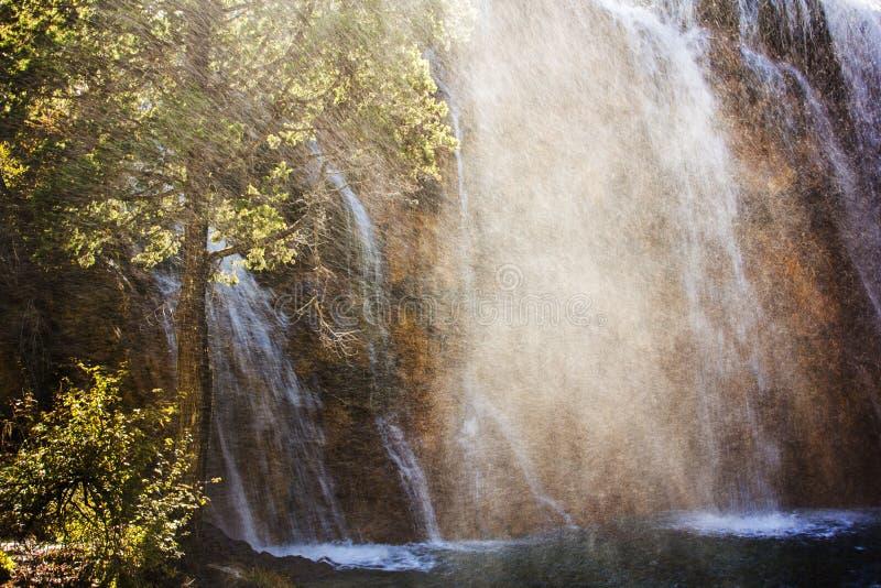 Cachoeira do banco de areia da pérola foto de stock royalty free