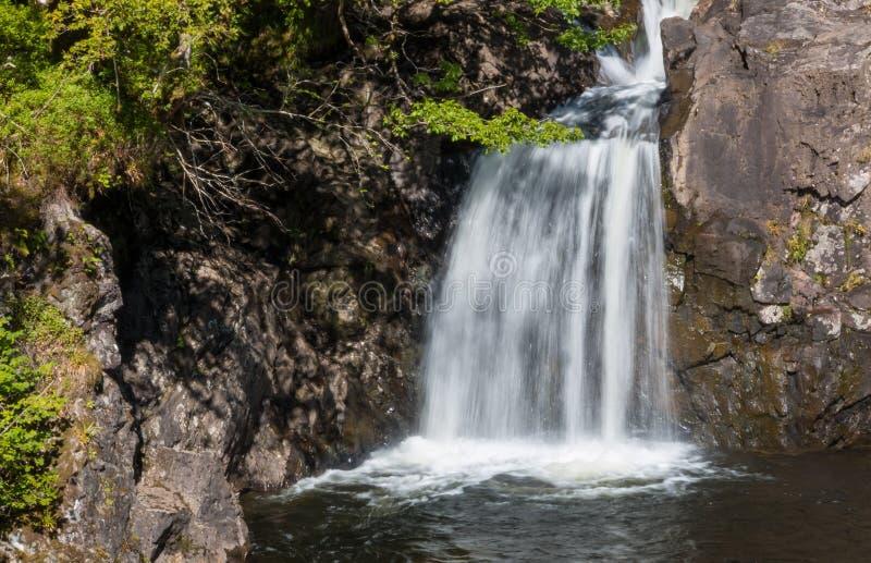 Cachoeira do caldeirão de Witchs imagem de stock