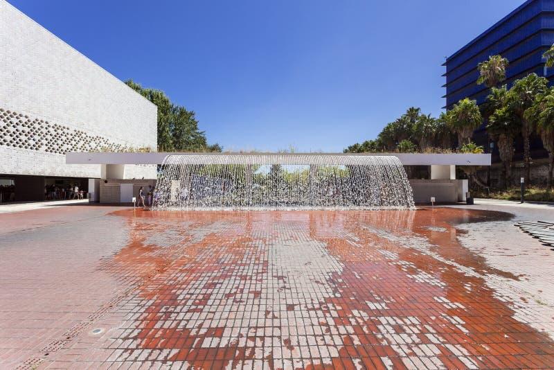 Cachoeira do Jardins D'agua, de Dagua ou de Água foto de stock