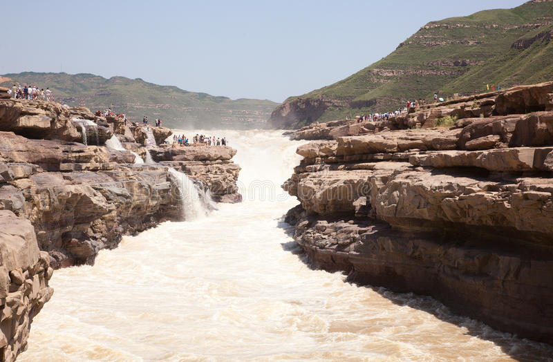 A cachoeira do magnificence fotografia de stock royalty free
