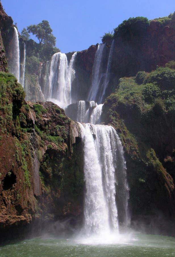 Cachoeira do ouzoud imagem de stock