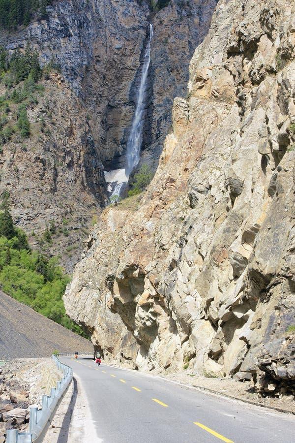 Cachoeira do penhasco imagem de stock royalty free