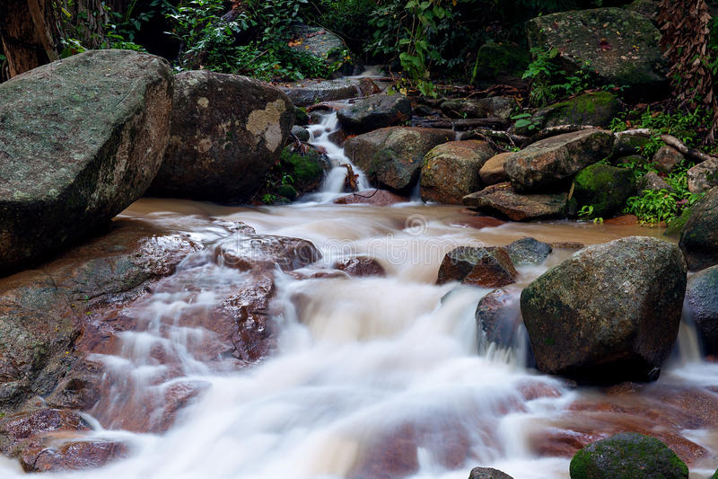 Cachoeira do rapaz de Hin fotografia de stock royalty free