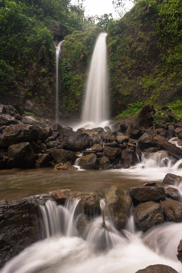 cachoeira do sibeduk fotografia de stock
