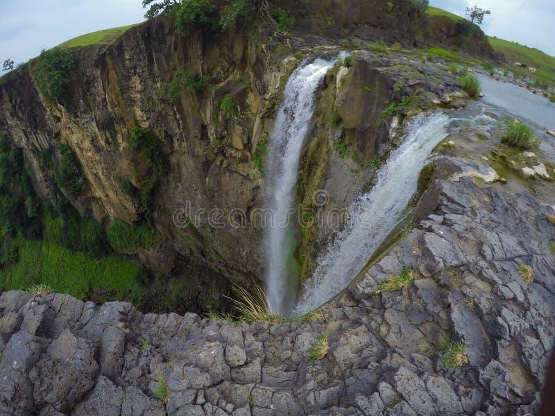 Cachoeira dois fotos de stock royalty free