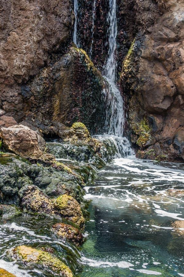Cachoeira e associação imagens de stock royalty free
