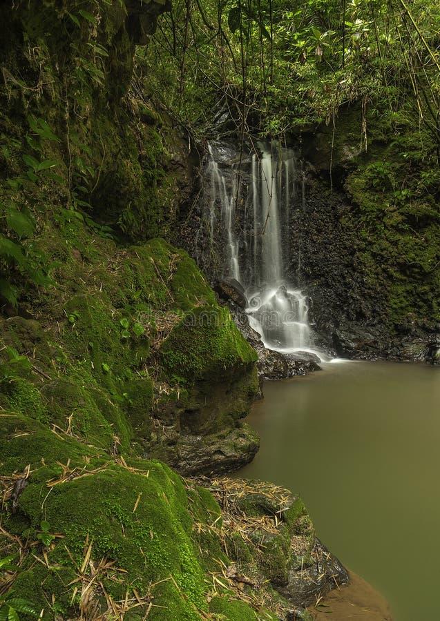 Cachoeira-EL pequeno Cajon foto de stock