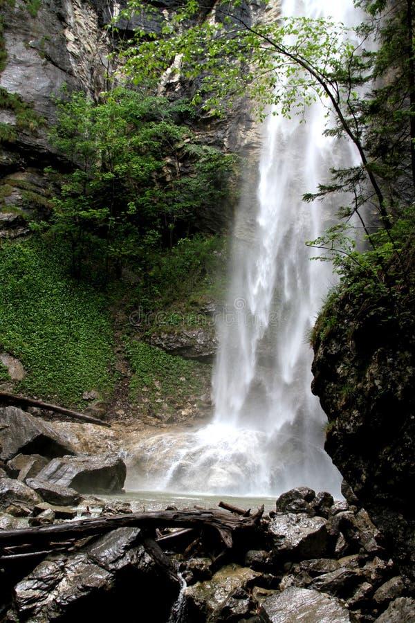 Cachoeira em Aschau - Baviera imagem de stock royalty free