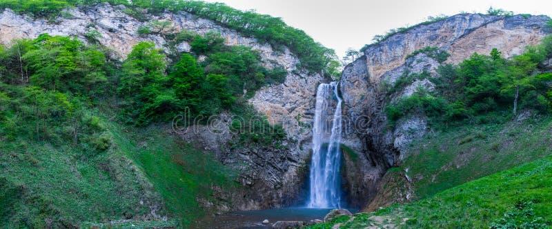 A cachoeira em Bliha em Bósnia fotografia de stock royalty free