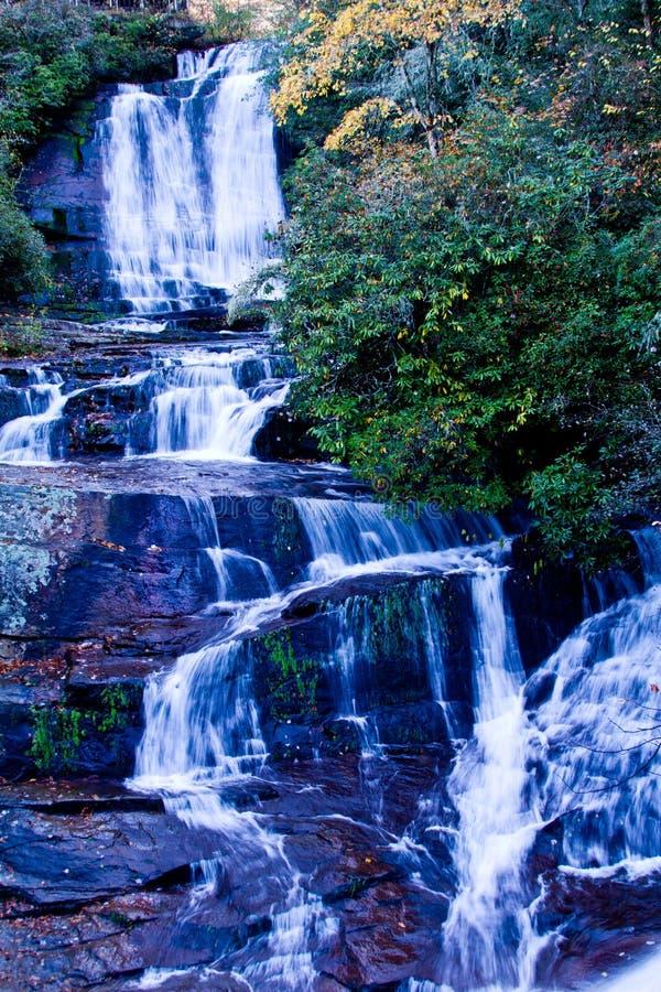 Cachoeira em Brevard, NC imagem de stock royalty free