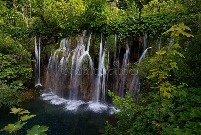 A cachoeira em Croatia foto de stock royalty free