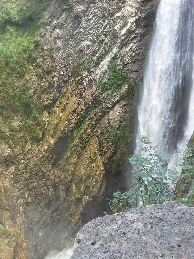 Cachoeira em Itália fotos de stock royalty free