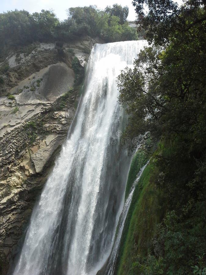 Cachoeira em Itália fotografia de stock royalty free