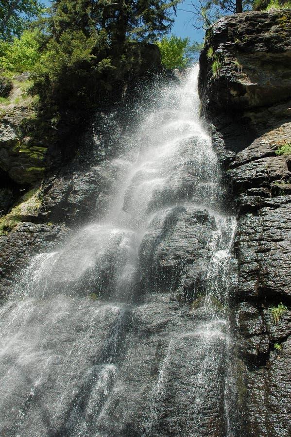 Cachoeira em Slovakia imagem de stock royalty free