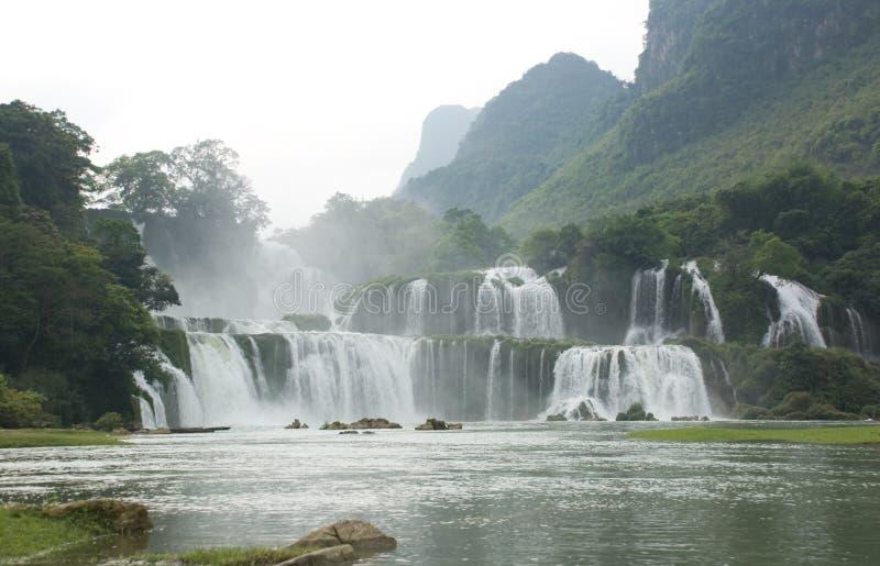 Cachoeira em Vietnam fotos de stock royalty free