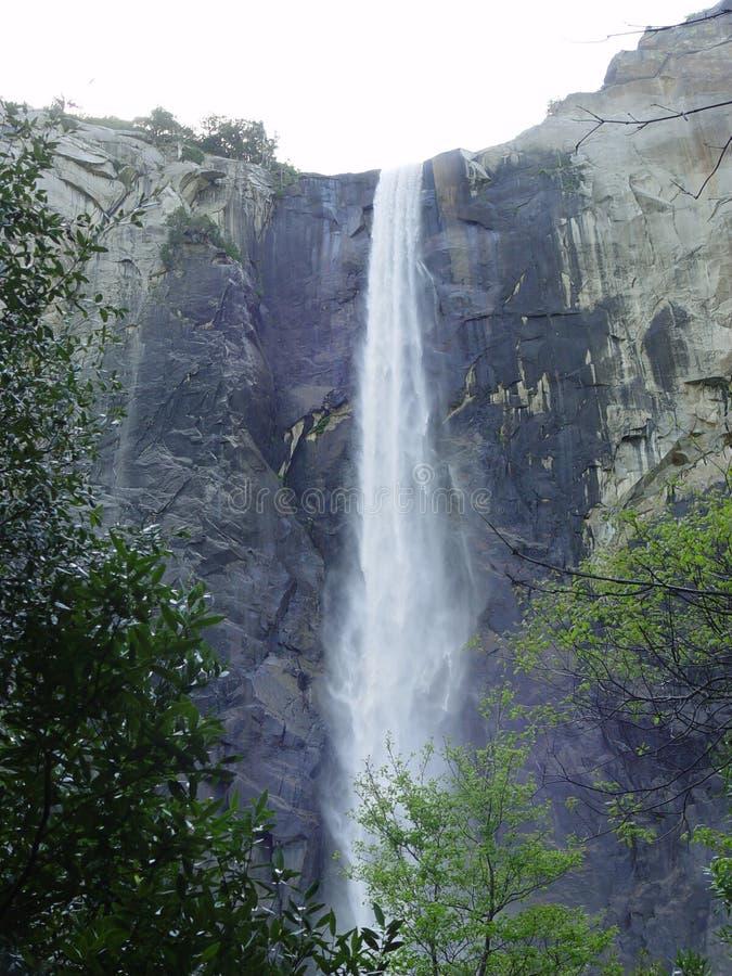 Cachoeira em yosemite imagem de stock royalty free
