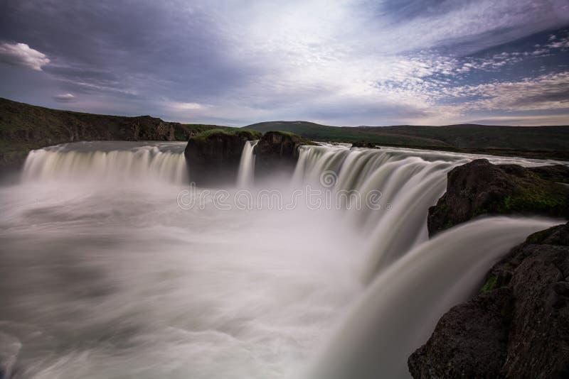 Cachoeira grande fotografia de stock royalty free