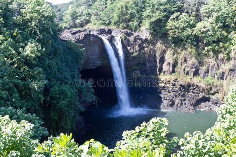 Cachoeira grande da ilha imagens de stock royalty free