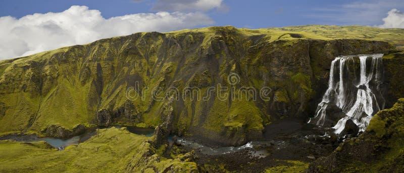 Cachoeira, Islândia imagem de stock