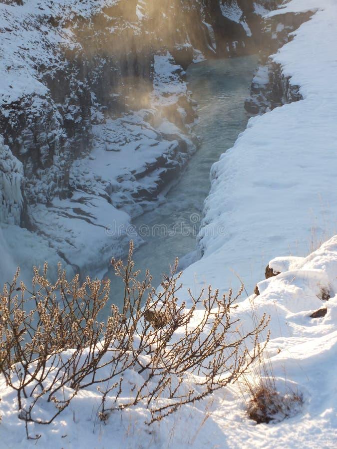 Cachoeira, Islândia fotografia de stock royalty free