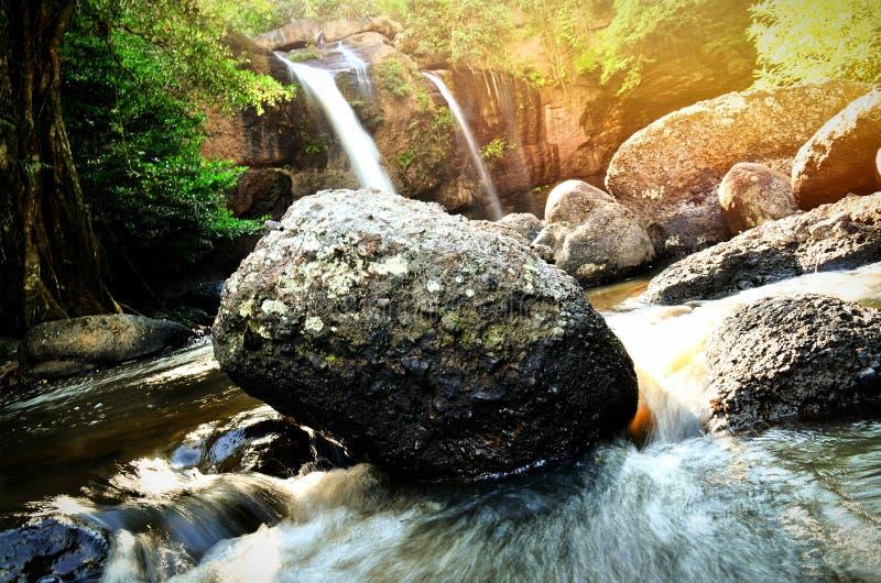 Cachoeira @ Kao Yai do suwat de Haew imagem de stock