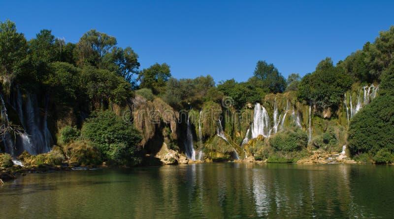 Cachoeira Kravice fotos de stock