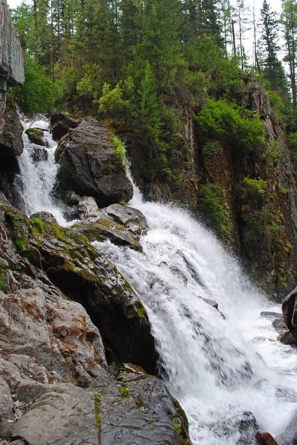 Cachoeira largamente foto de stock royalty free