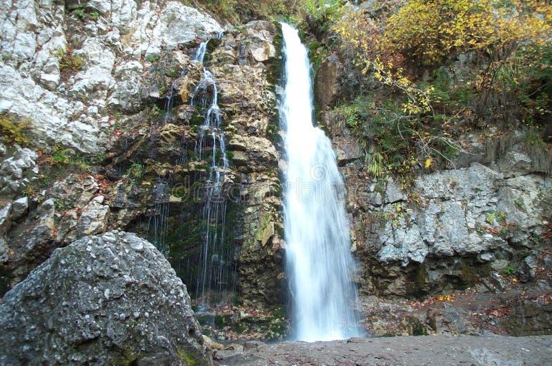 Cachoeira leitosa imagem de stock