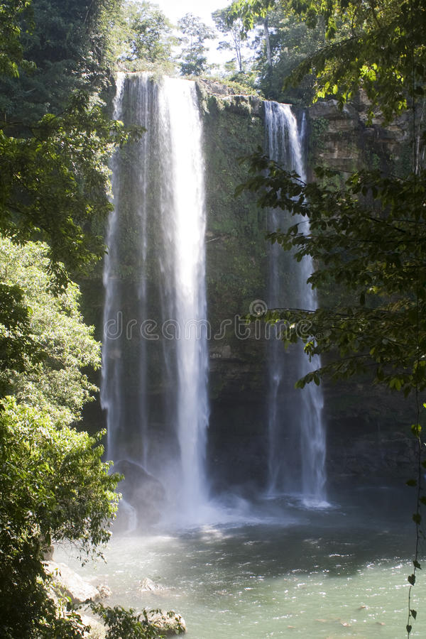 Cachoeira Misol Ha imagens de stock