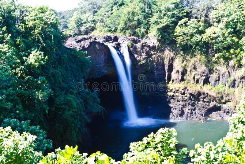 Cachoeira na ilha grande imagens de stock royalty free