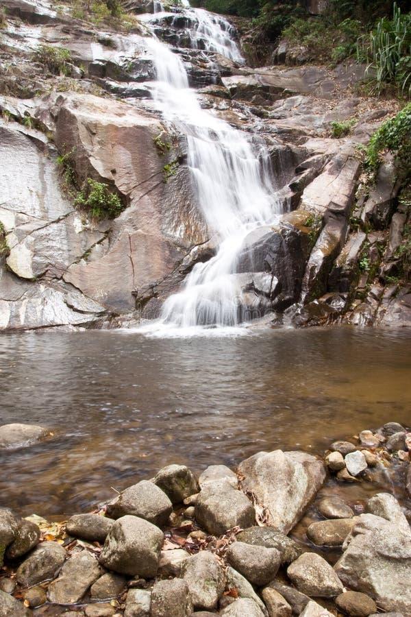 Cachoeira no sul de Tailândia.