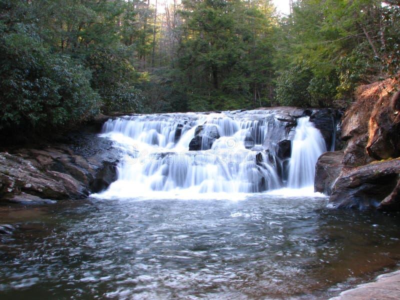 Cachoeira norte de Geórgia imagens de stock royalty free