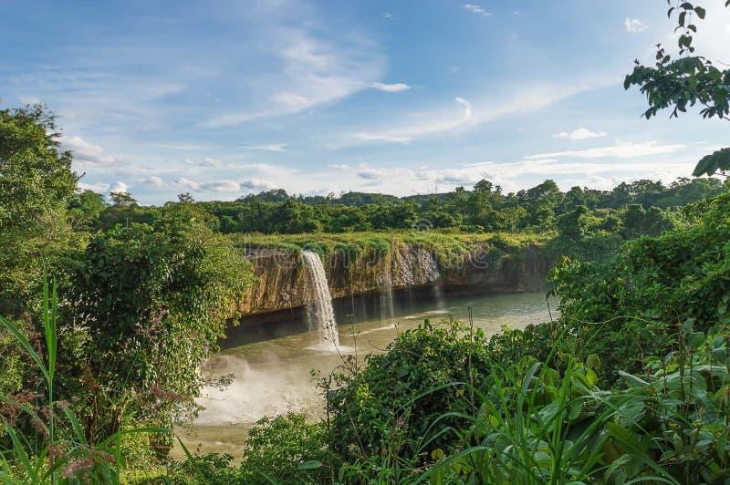 Cachoeira Nur seco fotografia de stock royalty free