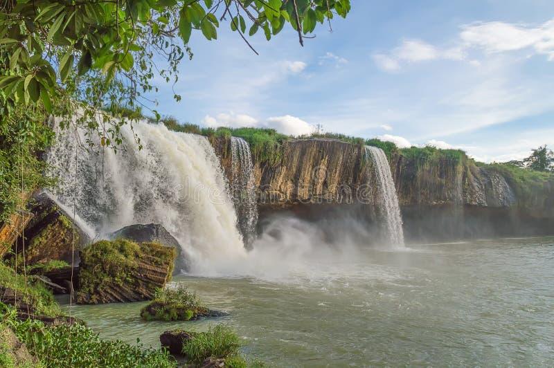 Cachoeira Nur seco fotografia de stock
