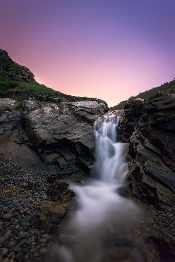 A cachoeira fotos de stock royalty free
