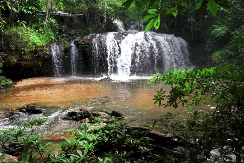 Cachoeira perto de Chiang Mai Tailândia foto de stock royalty free