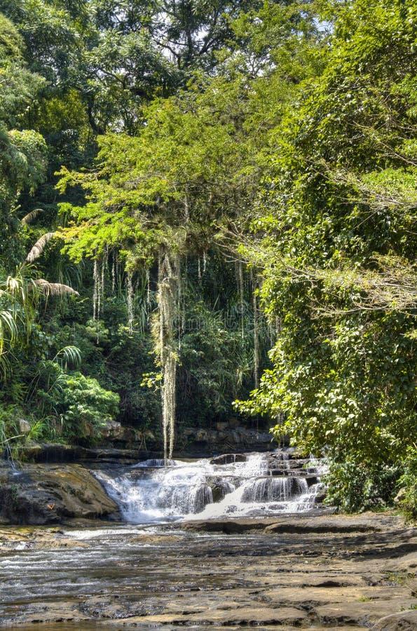 Cachoeira perto de San Gil imagem de stock royalty free
