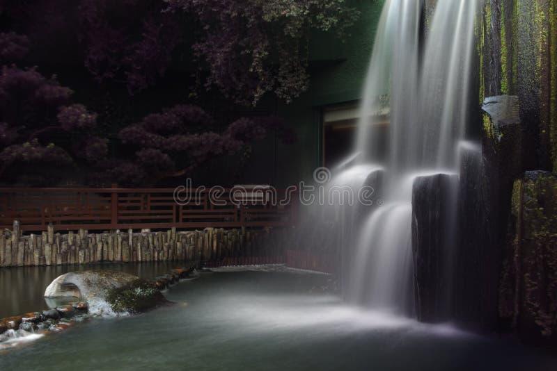 Cachoeira, qui Lin Nunnery imagens de stock