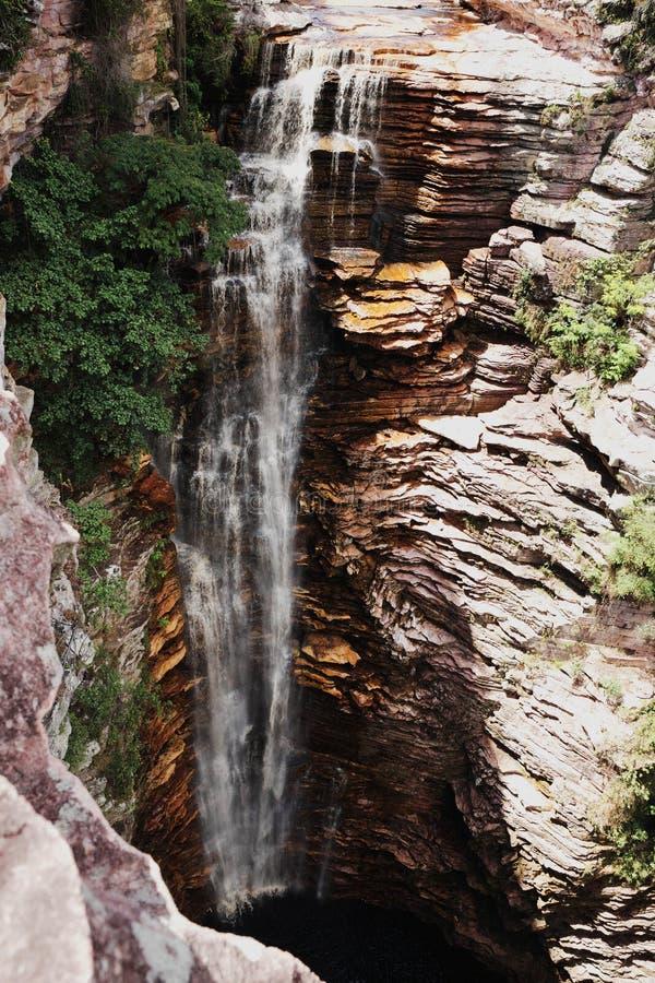 Cachoeira robi Buracão zdjęcie royalty free